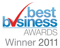 Best Business Awards Winner 2011 Logo